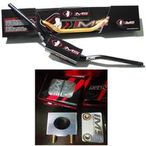 Guidão Ims Fat Bar + Adaptador + Espuma Motocross Completo!!