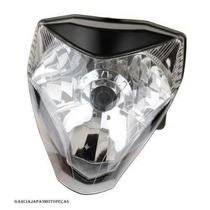 Farol Honda Cb300 Modelo Original Com Lampada Super Branca