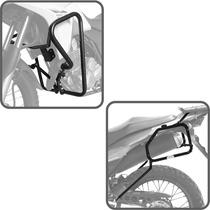 Kit Xre300 Protetor Motor Carenagem + Suporte Bau Lateral