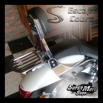 Sissy Bar Encosto Cobra Engate Rápido Shadow 750 11/.. Honda
