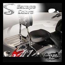 Sissy Bar Encosto Cobra Engate Rápido Midnight 950 Yamaha
