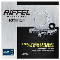 Transmissão, Relação Riffel Kawasaki Z750 2009 Até 2011