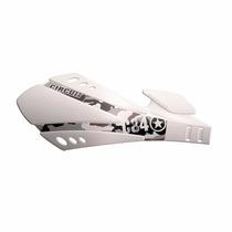 Protetor De Mão Circuit Sx Branco P/ Motos Com Freio A Disco