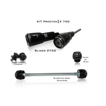 Kit Slider Tampas Procton Racing Kawasaki Z750 2008 A 2012