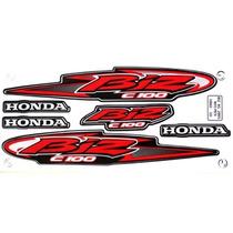 Adesivo Kit Honda Biz100 Ks 2005 Preta