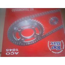 Kit Corrente Stiff+ Coroa E Piao Topmax Cg2000 E Fan125