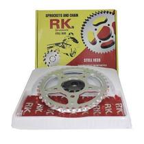 Kit Relação Pinhão Coroa Corrente Transmissão Xlr 125
