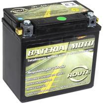 Bateria Moto Honda Pop 100 2007 Em Diante - 5 Ampéres