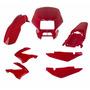Kit Carenagem Completo Bros 125 150 2006 Vermelho Clívia