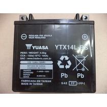 Bateria Yuasa Ytx14l-bs - Harley Davidson Xl 883cc/1200cc