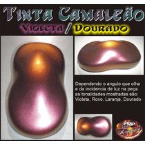 Tinta Camaleão Violeta Dourado - Chameleon Paint Color