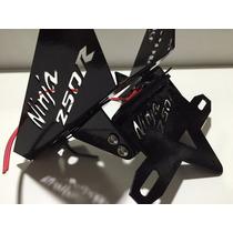 Eliminador De Rabeta,suporte De Placa Kawasaki Ninja250r Led