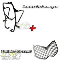 Kit Protetor Carenagem + Protetor Farol - Tenere 250 Todas