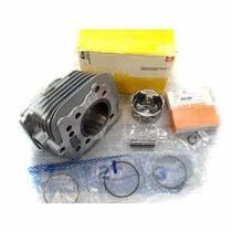 Kit Motor Completo Cilindro Pistao Metal Leve Cbx 200 Strada
