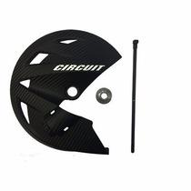 Protetor De Disco Carbono Circuit Para Honda Bros Nxr 150