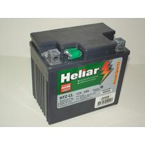Bateria Moto Heliar Htz6 Cg 150 Titan Mix Biz 125 Bros Crf