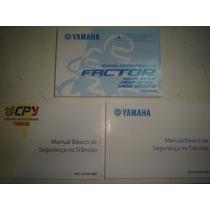 Novo Manual Moto Yamaha Factor Ybr 125 2011 2012 2013 E K Ed