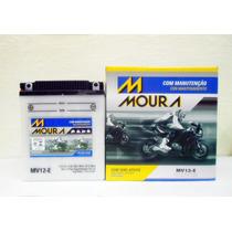 Bateria Moura Cb 450 Dx 1991 1992 1993 1994 Mv12e Rf Yb 12aa