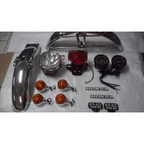 Kit Restauração Cg 125 76 A 82 E Ml 125 76/82 Bolinha Honda