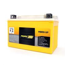 Bateria Moto Pioneiro Mbr8-vp Cb 500 Shadow 600