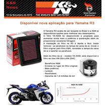 Filtro De Ar K&n Yamaha R3 #lançamento#