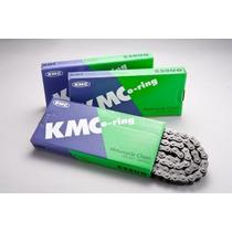 Corrente Transmissão Moto Kmc 520 Uo X 120 C/ Retentor Xj6