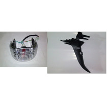 Lanterna Traseira E Paralama Traseiro Shineray Phoenix 50cc