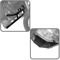 Kit Xre300 Protetor Motor Pedaleira + Protetor De Cárter