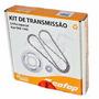 Kit Relação Cofap Ybr 125 2006 2007 2008 Aço 1045 C 424260