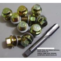 Bujão Titan 150 M13x1,50 (10 Peças) Com Macho