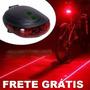 Motovia Bike Virtual Lanterna Luz Led Bicicleta Frete Grátis