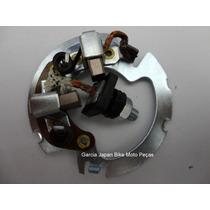 Escova Motor Arranque C/ Mesa Completa Cbx, Nx, Xr 200