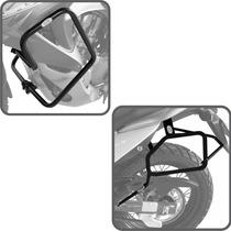 Kit Honda Transalp 700 Protetor De Motor + Afastador Alforge