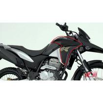 Carenagem Xre300 Preta 2014 - Original Honda Adesivada