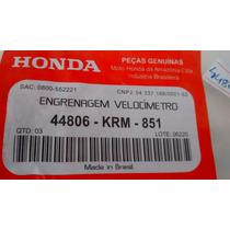 Engrenagem Pinhao Velocímetro Cg 150 Mix 09 Marcio Motos