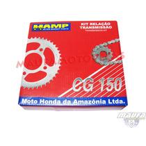Kit Relação Transmissão Hamp Titan 150/fan150 Original Honda