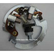 Escova Motor Arranque Partida Fazer/xtz125/lander 2006/2010