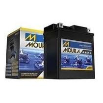 Bateria Moura Para Moto Fan125 2004 À 2014 Partida Elétrica