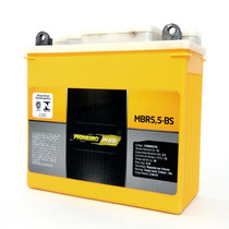 Bateria Moto Pioneiro Mbr5,5 12v Yamaha Rd Rdz Ybr 125 350