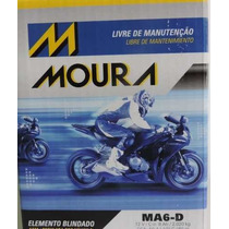Bateria Tornado/fazer250/nxr150/cbx250/cb300 Ma6-d Moura