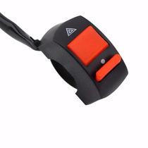 Botão Interruptor Pisca Alerta Para Motos