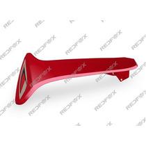 Carenagem Externa Esquerda Vermelha Shineray Phoenix Gold 50