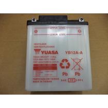 Bateria Yuasa Yb12a-a - Honda Cb 400 / Cb 450 / Cbr 450 Sr