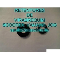 Kit Retentor Do Virabrequim Scooter Yamaha Jog E Bws