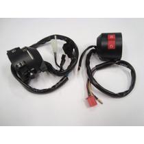 Chave Punho Luz + Interruptor Partida Cbx250 Twister 01 A 05