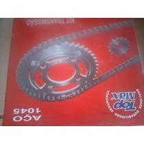 Kit Corrente Stiff + Coroa E Piao Topmax Cg150