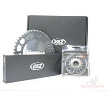Kit Relação Transmissão Vaz Extreme Fazer 250 Com Retentor
