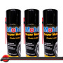 3 Lubrificante Spray Corrente Mobil Super Moto 200 Mi