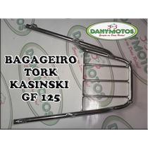 Bagageiro Convencional Kasinski Gf 125 - Cromado - Tork