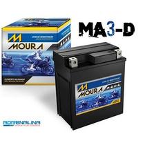 Bateria Moura Ma3 D Moto Biz C100/ Ks/ Cg Titan Ks Scooter 9